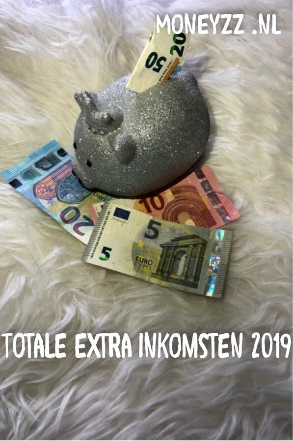 Totale extra inkomsten 2019