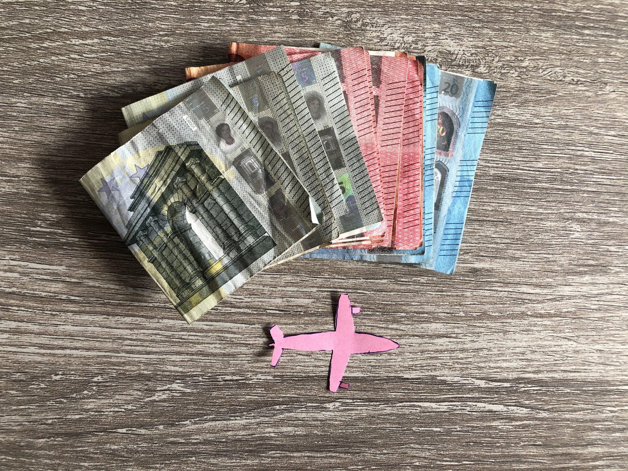 Hoeveel geld heb ik meegenomen op vakantie?