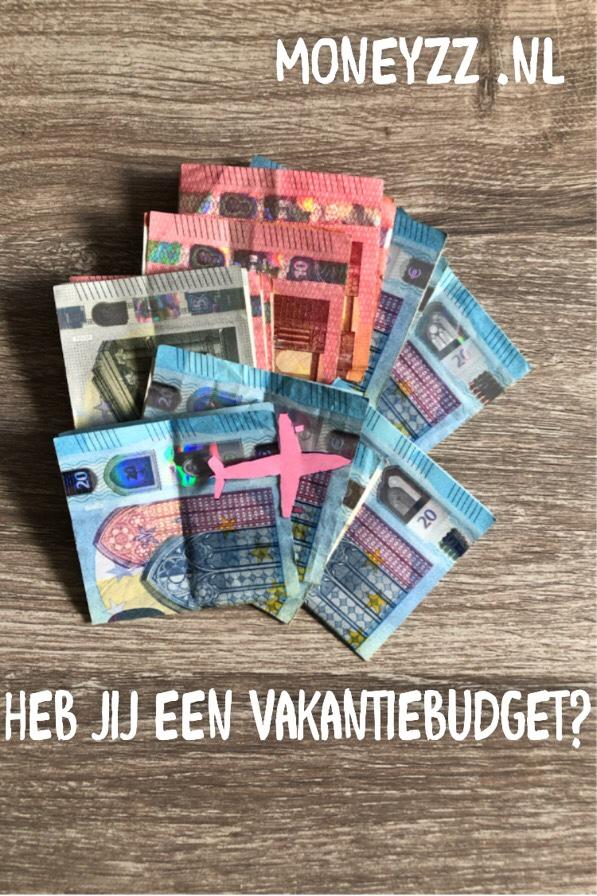 Heb jij een vakantiebudget