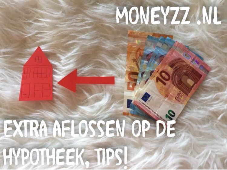 Extra aflossen op de hypotheek, tips