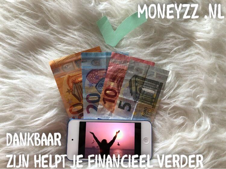 Dankbaar zijn helpt je financieel verder