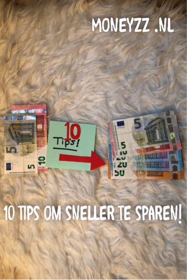 10 tips om sneller te sparen