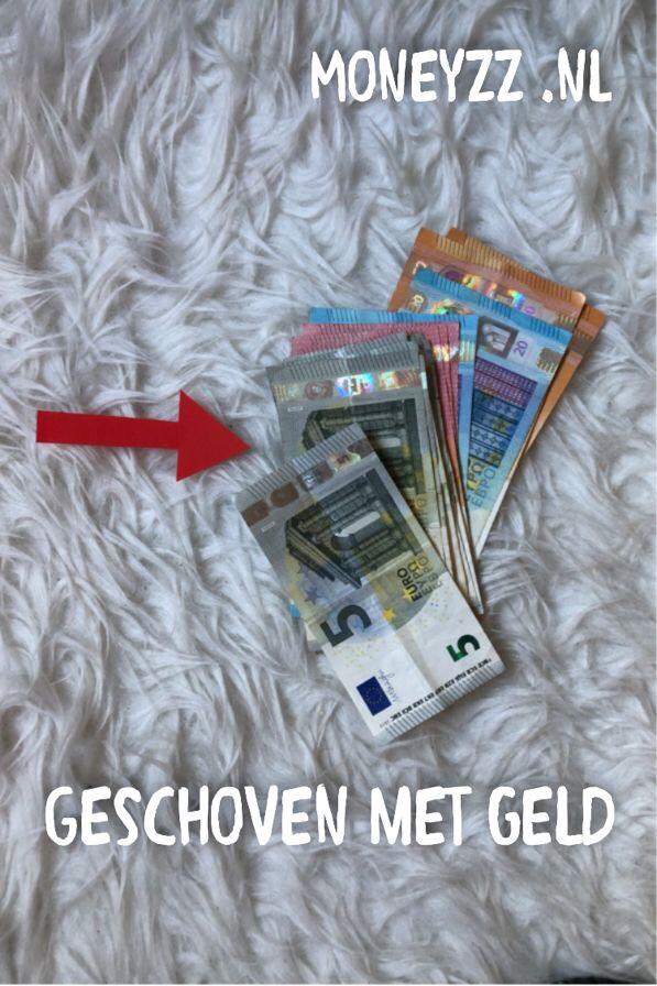 Geschoven met geld