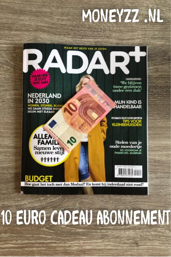 10 euro cadeau abonnement