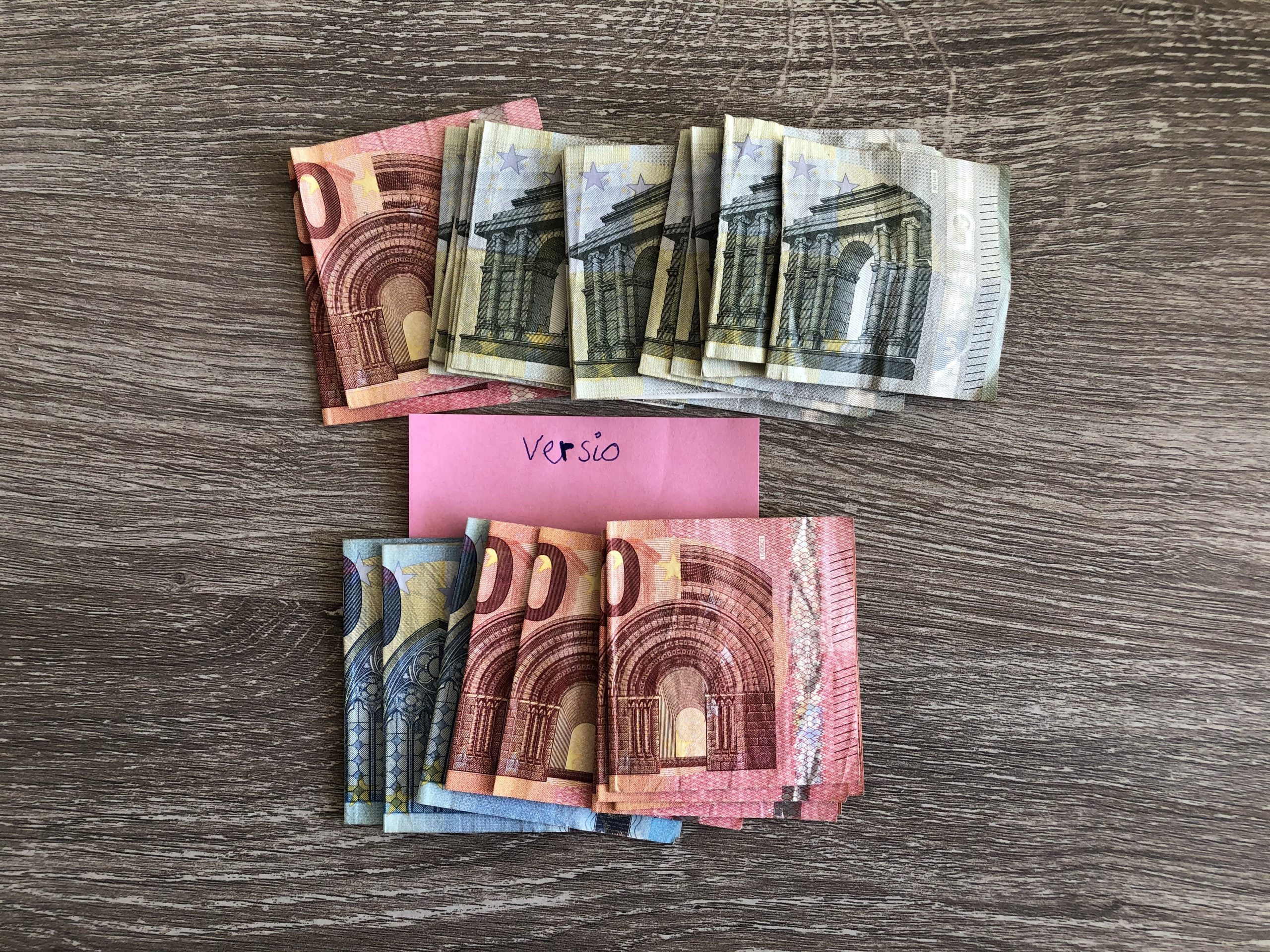 Geld verdienen met Versio