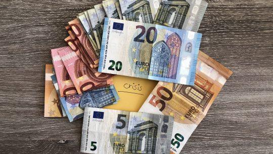In crisistijd geld anders uitgeven?