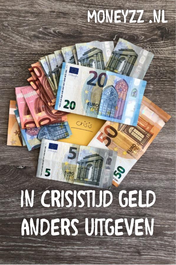 In crisistijd geld anders uitgeven