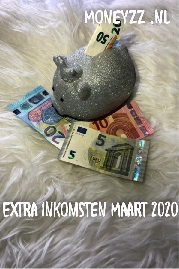Extra inkomsten Maart 2020