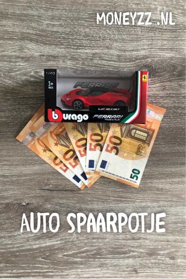 Auto spaarpotje