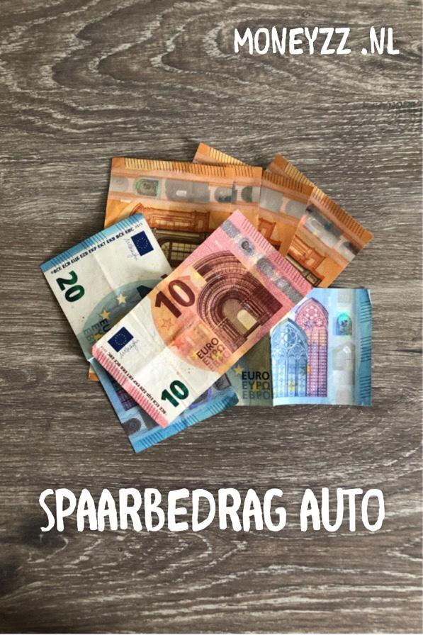 Spaarbedrag auto