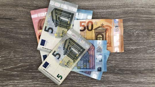Geld gekregen
