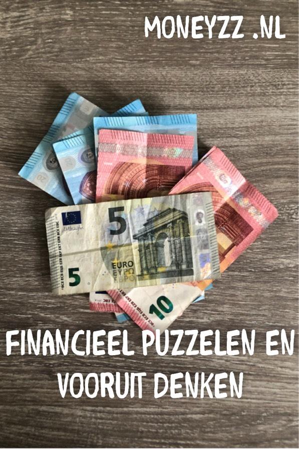 Financieel puzzelen en vooruit denken