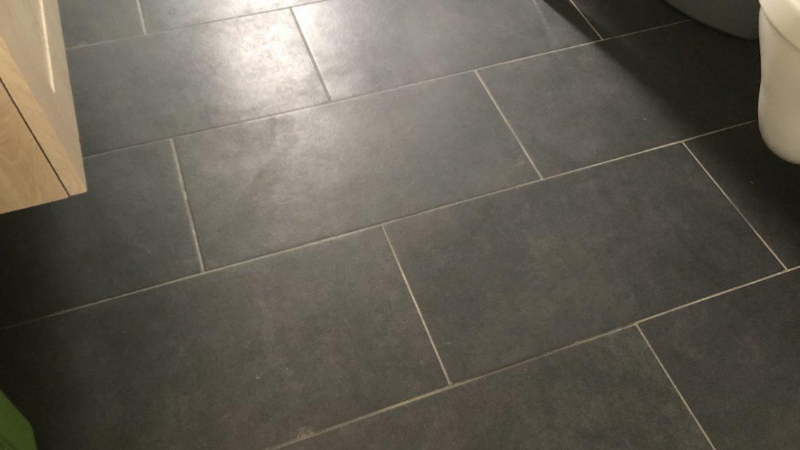De hele vloer moet eruit