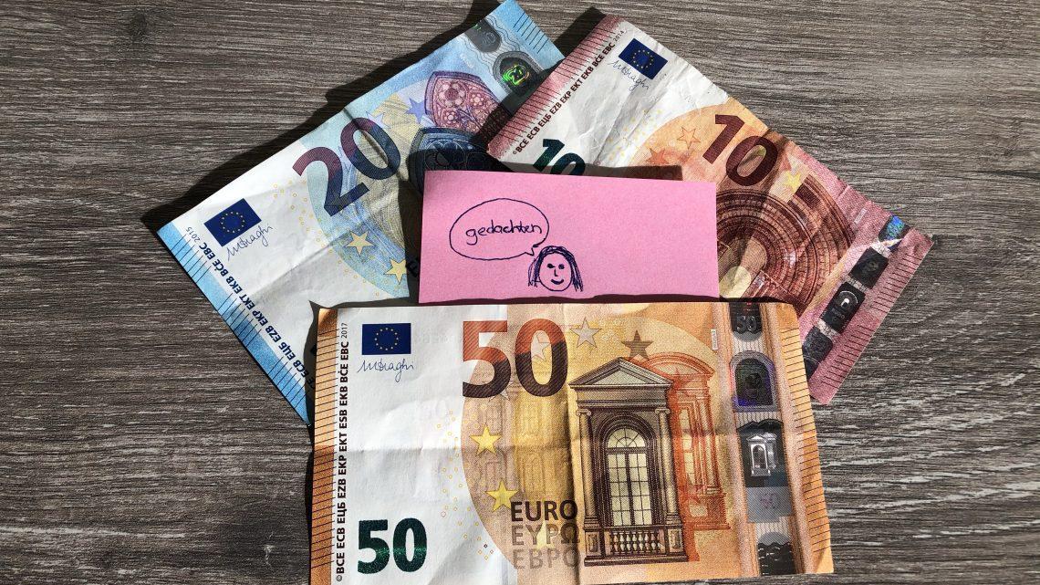 Hoe… over geld denkt