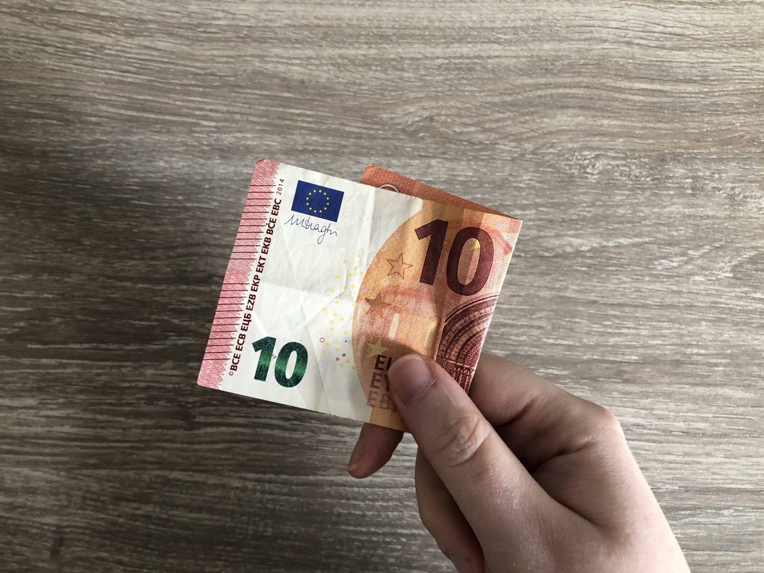 Geld geven is zo leuk als jij het maakt