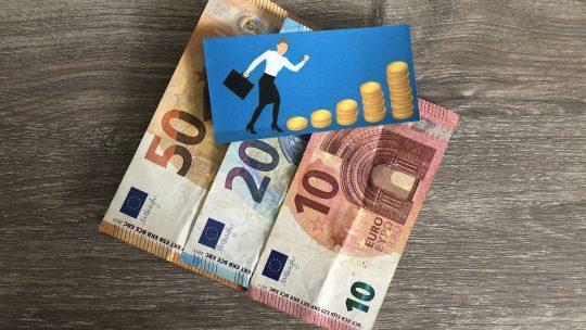 Geldgedachten stappen voor verandering