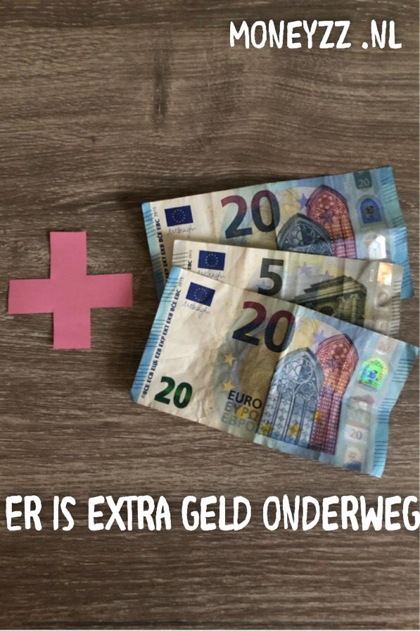 Er is extra geld onderweg