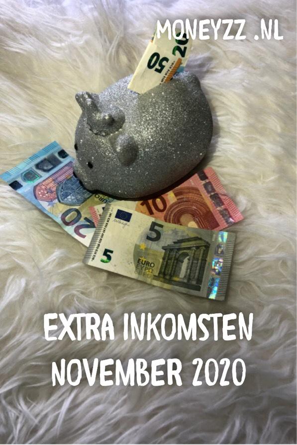 Extra inkomsten November 2020