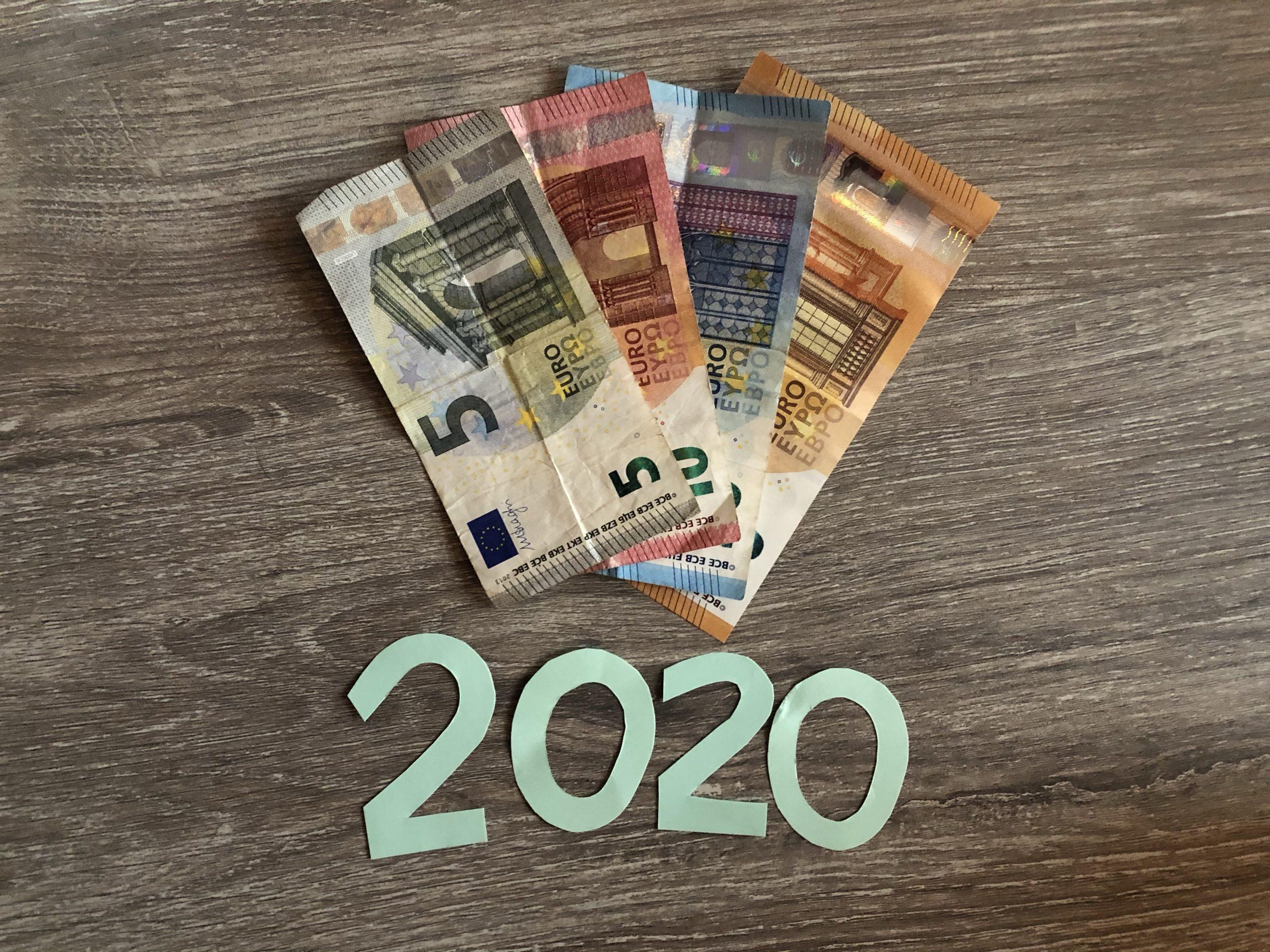 Totale extra inkomsten 2020