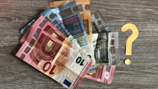 Hoe betaal ik die 835 euro?