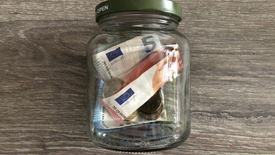 Hoe zou jij geld uit de pot houden?