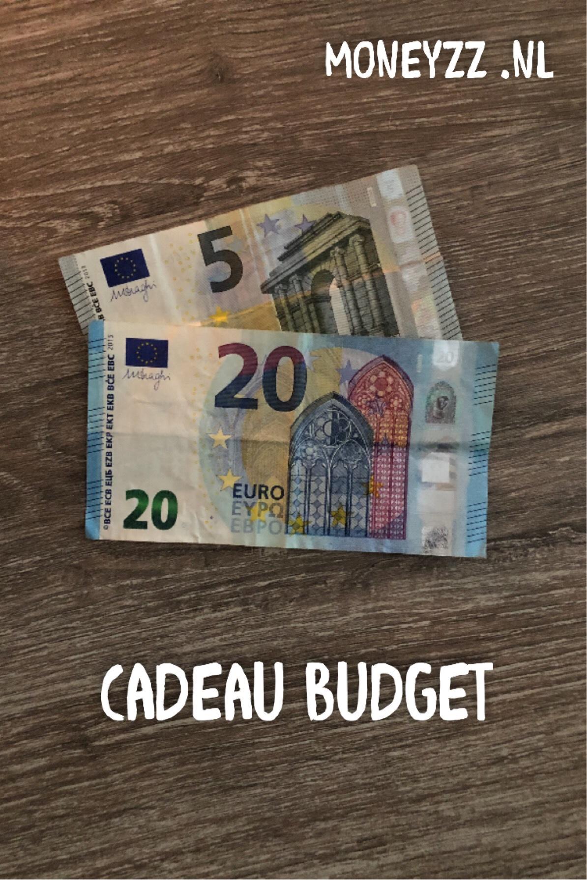 Cadeau budget