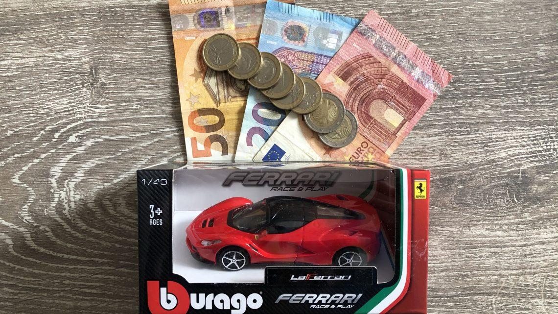 Kosten garage bezoek mei 2021