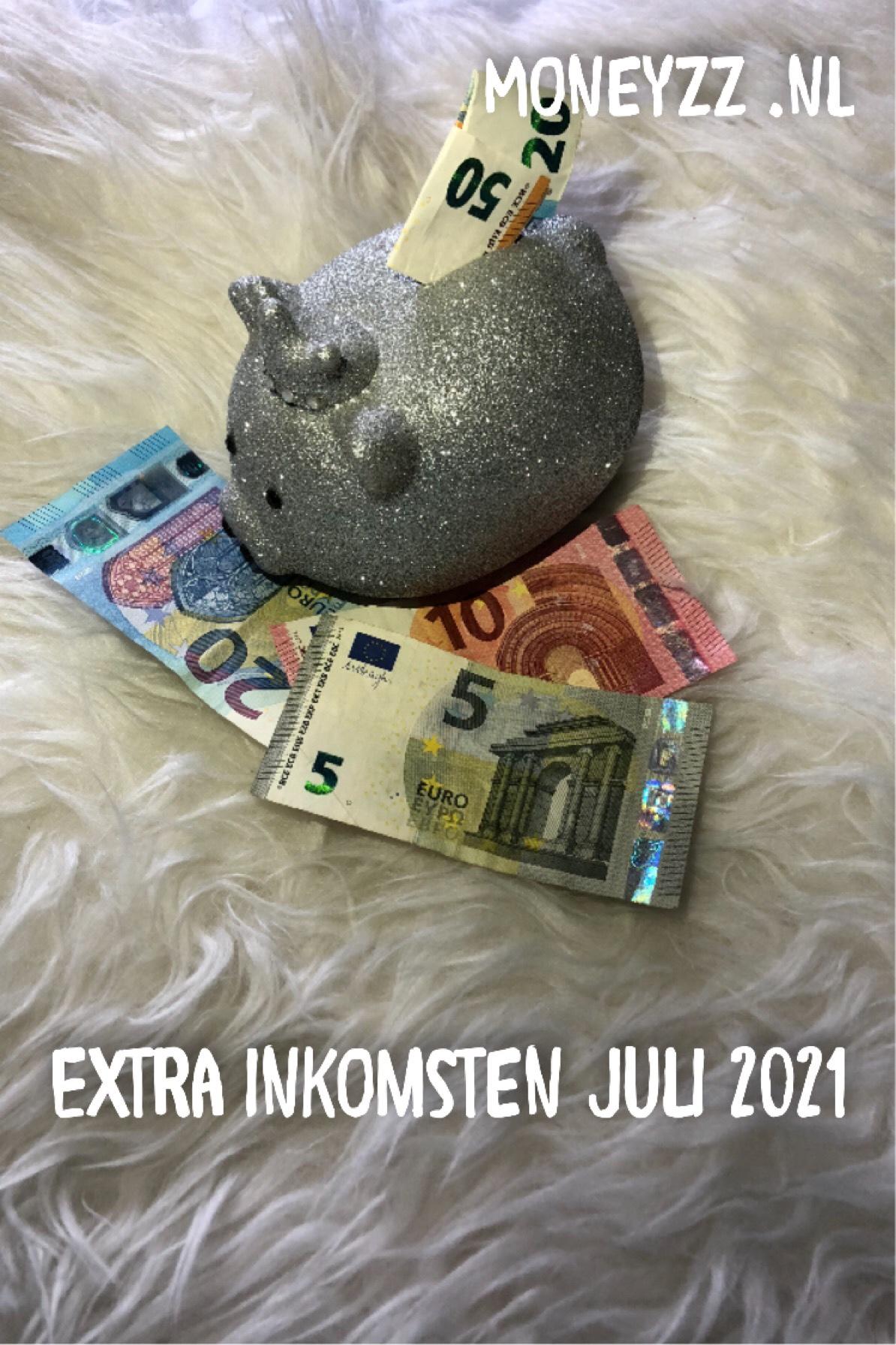 Extra inkomsten Juli 2021
